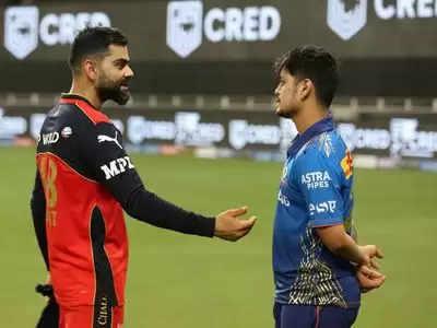 Virat Kohli and Ishan Kishan