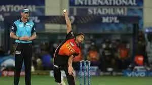 Umran Malik bowls the fastest ball in IPL 2021