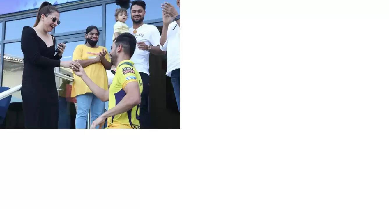 Deepak Chahar proposes to his girlfriend